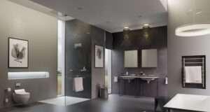 Использование инсталляций в дизайне ванной комнаты