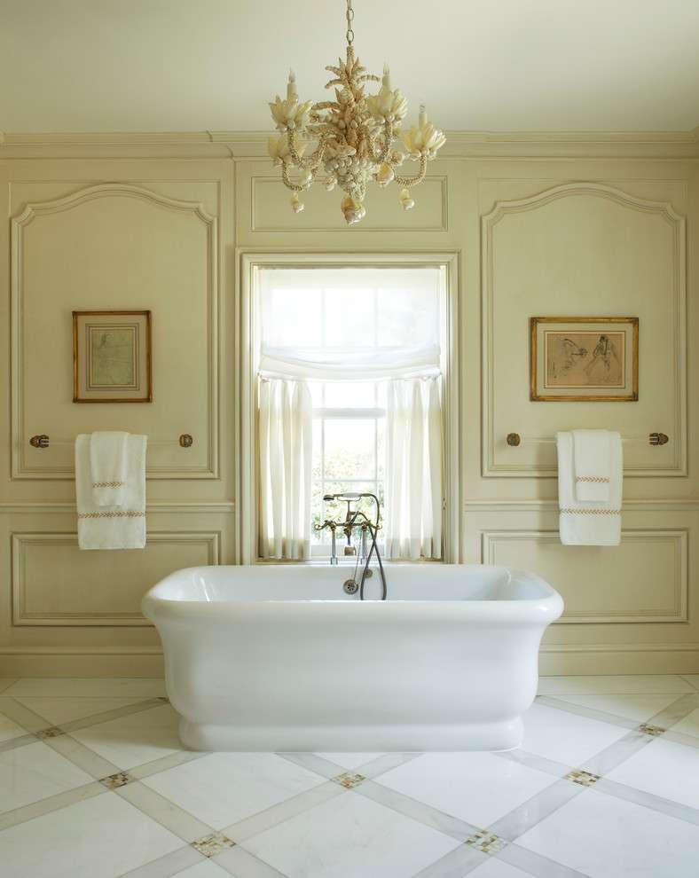 Интерьер элитной ванной